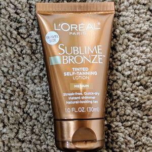 5/$25 L'Oréal Self-tanning Lotion